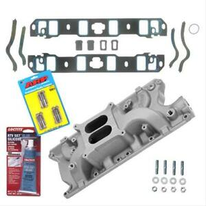 Sbf Ford 289 302 Summit Stage 2 Intake Manifold W Gaskets Bolts Pro Pack