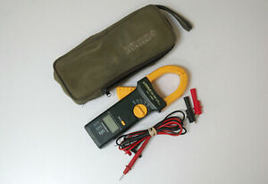 Greenlee Cm 1000 1200 Ac Amp Clamp Multimeter Volts Ohms