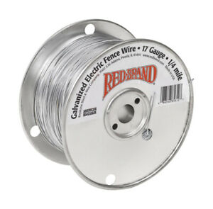 Red Brand Electric Fence Wire 1 4 Mi