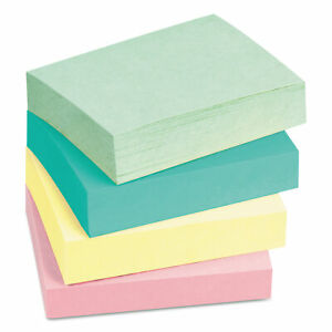 Post it Notes Original Pads In Marseille Colors 3 X 5 100 sheet 5 pack