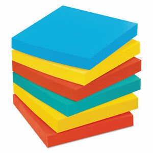 Post it Notes Notes Cabinet Pack 3 X 3 Ast Bright Colors 100 Sheets pad 18