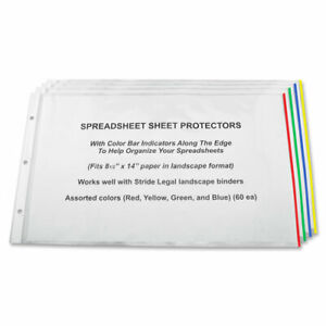 Stride Semi clear Sheet Protectors