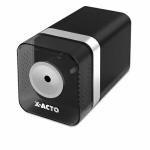 X acto Heavy duty Desktop Electric Pencil Sharpener Walnut Grain Ea Epi1716