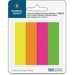 Business Source Page Marker Pad