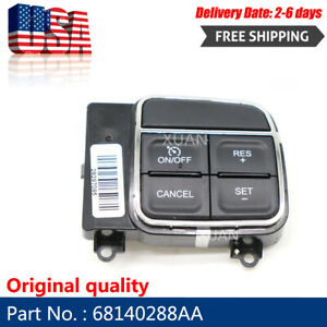 New 68140288aa Cruise Control Switch Fit Jeep Dodge Ram Chrysler 2011 2015