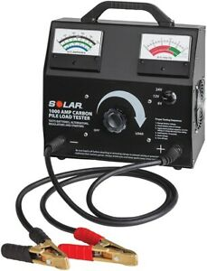 Solar 1876 1000 Amp Variable Load Carbon Pile Tester