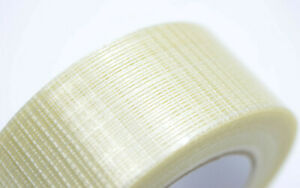 6x 2 60 Yards Bi direction Fiberglass Reinforced Strapping Filament Tape 190 Lb