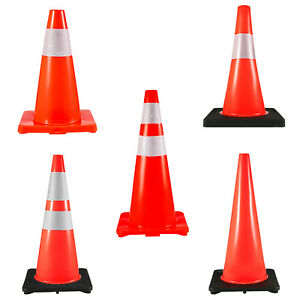 Traffic Cones Safety Cones parking Cones Warning Roads Construction Sites