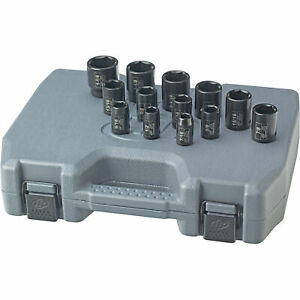 Ingersoll Rand Impact Sockets 1 2in Drive 13 pc Sae Set sk4h13