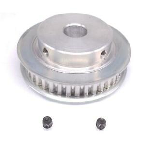 1pc Xl 40t Timing Belt Pulley Synchronous Wheel 14mm Bore For 10mm Width Belt