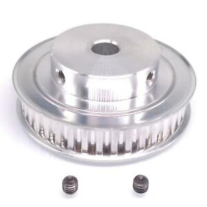 1pc Xl 40t Timing Belt Pulley Synchronous Wheel 10mm Bore For 10mm Width Belt