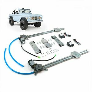 Ford Bronco 1966 77 One Touch Lift Regulator Power Window Conversion Kit Coyote