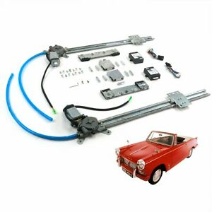 Triumph Herald 1959 71 One Touch Power Window Conversion Kit Door Motor Courier