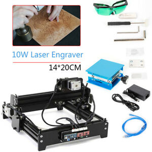 Cnc Laser Engraver Engraving Machine Desktop Metal Stone Printer Cutter Usb 12v