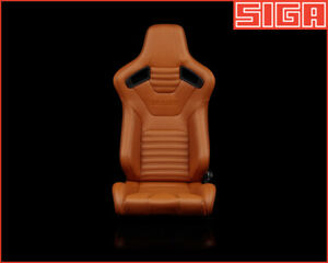 Braum Elite X Racing Seat British Tan Pair