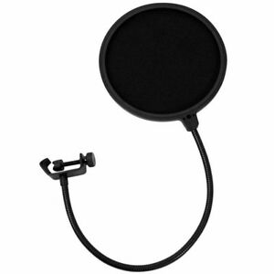 Recording Studio Microphone Pop Filter Mic Wind Screen Mask Shield Double Layer $8.99