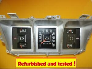 73 74 Ford Truck Bronco Van Speedometer Gauge Cluster Refurbed Tested Leds