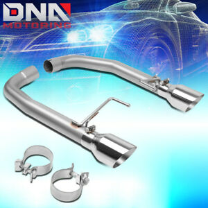 For 2015 2017 Ford Mustang 5 0l Axle Cat Back System W Dual 4 Od Exhaust Tips
