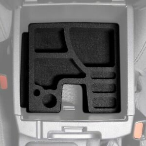 Center Console Organizer Inserts Black Waterproof Fits Toyota Tacoma 2016 2020