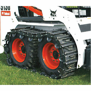 Tracksplus Steel Skid steer Tracks For Bobcat 873 s220 s250 s300 T 1200n 40