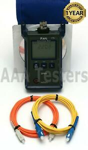 Afl Noyes Opm 4 3d Sm Mm Fiber Optic Power Meter Opm 4 Opm4 3