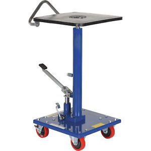 Vestil Manual Hydraulic Post Table 300 lb Cap ht 03 1616
