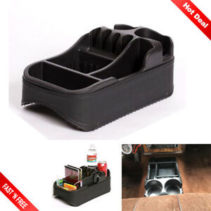Universal Center Car Console Bin Auto Truck Organizer Cup Holder Minivan Storage