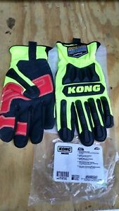 Kong Rigger Work Gloves Impact Protection New Open Box Size Large