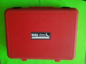 Uei Combustion Analyzer Ac509 Carrying Case Only C127 C125 C157 C155 used