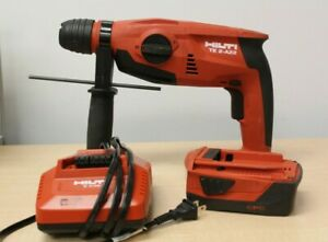 Hilti Te 2 a22 Sds Hammer Drill With Battery And Charger