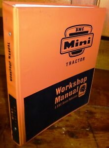 Bmc Mini Nuffield 4 25 Tractor Workshop Manual W binder Akd4339
