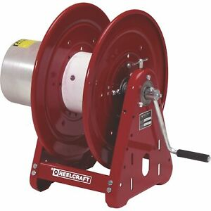 Reelcraft Heavy duty Hand Crank Cable Welding Reel 300ft Capacity