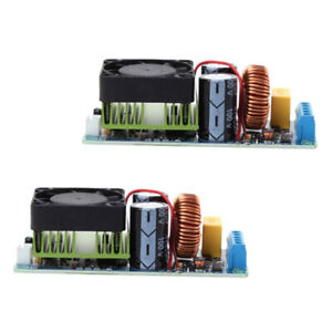 2 Pcs Mini Hifi Mono Audio Amplifier Board Module W Fan Set 500w Class D