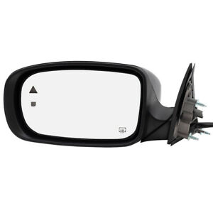 Drivers Power Side Mirror For 11 18 Dodge Charger Heated Blind Spot Detection
