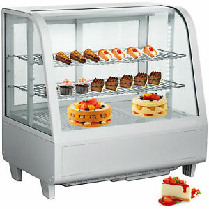 Commercial Countertop Refrigerated Bakery Dairy Display Case 3 1 2 Cu Ft 100l