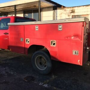 Reading 9ft Dually Utility Bed Box For Standard Cab Chassis Truck 60 C To A