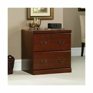 Sauder 102702 Heritage Hill Lateral File Storage Classic Cherry Finish Furniture