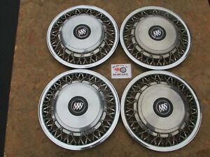 1993 99 Buick Roadmaster Leasbre Regal 15 Wire Wheel Covers Hubcaps Set Of 4