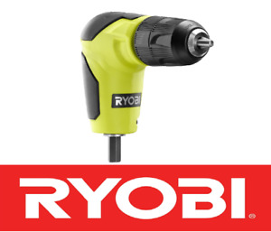 New Ryobi 18 Volt Right Angle 90 Degree Drill Attachment 3 8 Chuck A10raa1
