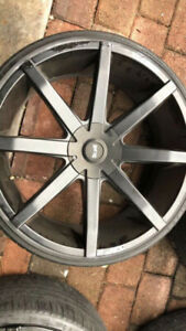 Rims Tires 24 Inch Rims Dfd Rims Black Rims Used Rims