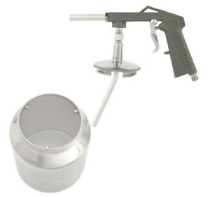 Undercoating Spray Gun Suction Feed Cup Auto Undercoat Truck Bed Liner Coating