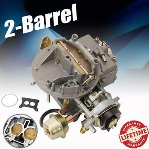 Dot 2 Barrel Carburetor Carb 2100 A800 For Ford Jeep Wagoneer 289 302 351 360cu