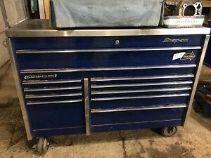 Snap On Tool Box Klr722 With Steel Work Top
