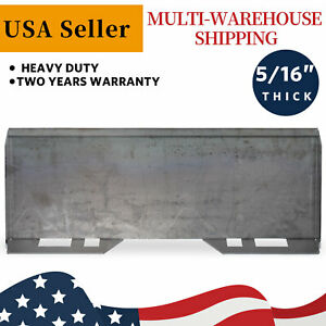 5 16 Mount Plate Skid Steer Loader Quick Tach Attachment Steel Hd For Bobcat