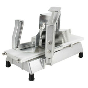 3 16 Commercial Tomato Slicer Kitchen Tomato Cutter Fruit Apples Cutting Machin