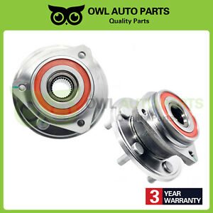 Front Wheel Bearing Hub Pair For Jeep Cherokee Tj Wrangler Comanche 4wd 513084