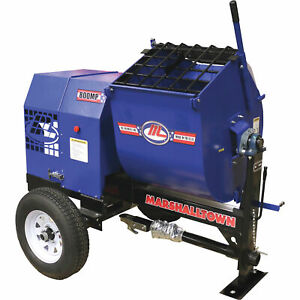Marshalltown 800mp3eb 3hp Electric Mortar plaster Mixer With Ball Tow And