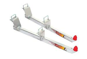 Lakewood Traction Bars Steel Silver Powdercoated Fits Dodge Ram Pickup 1500 Pair