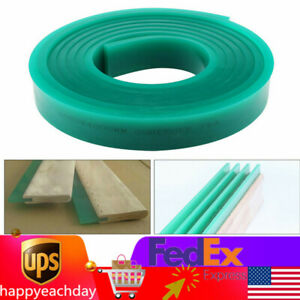 70 Durometer Silk Screen Printing Squeegee Rubber Blade Roll 6 Ft 5x180cm Green