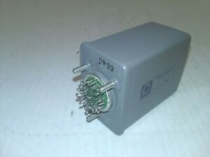 Phillips advance Control 74007 39 Relay 100 Ohms 20 pin 3 Amp 150w Non Ind Nnb